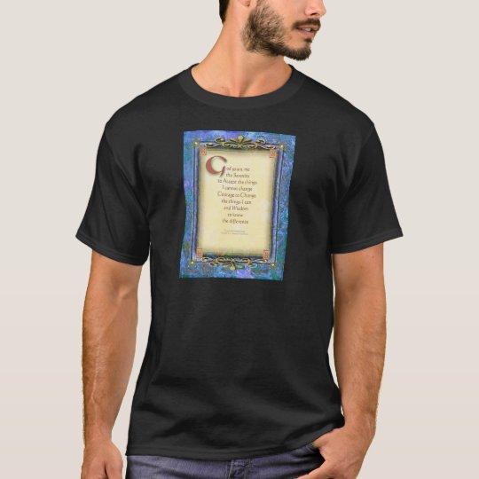 Serenity Prayer Illuminated 3 T-Shirt