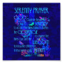 Serenity Prayer in Blue Photo Print (<em>$1.65</em>)