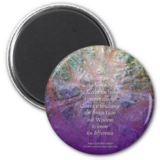 Serenity Prayer Incense Cedar Magnet