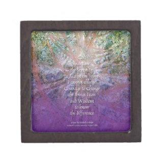Serenity Prayer Incense Cedar Premium Gift Box
