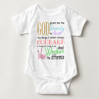 Serenity Prayer Infant Creeper