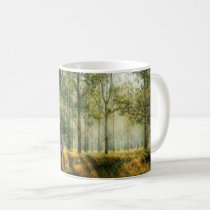 Serenity Prayer Inspirational Quote Forest Autumn Coffee Mug