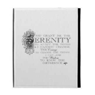 Serenity Prayer iPad Folio Case