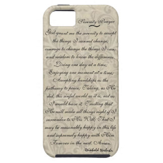 Serenity Prayer iPhone-5 Case iPhone 5 Covers