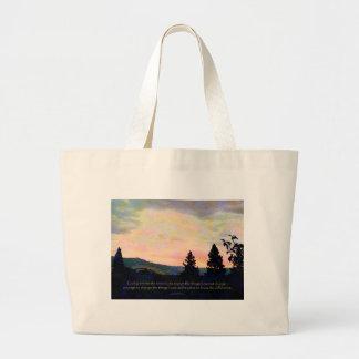 Serenity Prayer July Sky Sunrise Bags