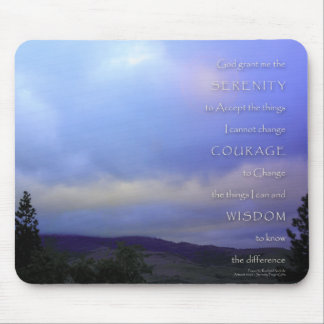 Serenity Prayer June Daybreak Mouse Pad