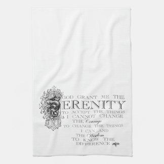 Serenity Prayer Kitchen Towel