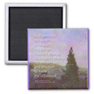 Serenity Prayer Landscape Magnet