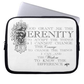 Serenity Prayer Laptop Sleeve