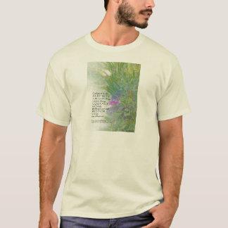 Serenity Prayer Late Summer  Garden T-Shirt