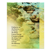 Serenity Prayer Little Creek Poster