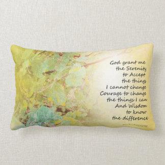 Serenity Prayer Manzanita Golden Pillow