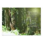 "Serenity Prayer Memorial Invitation 5"" X 7"" Invitation Card"
