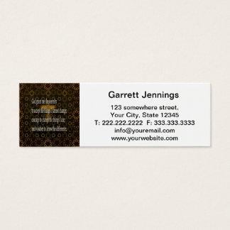 Serenity Prayer Mini Business Card