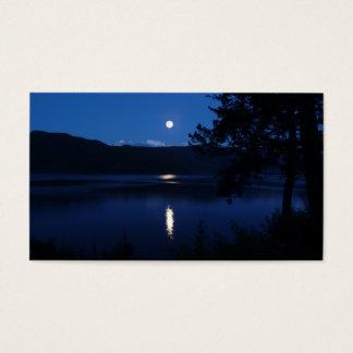 Serenity Prayer Moon Lake Business Card