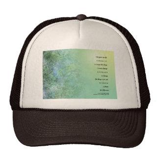 Serenity Prayer Moss on Rocks Trucker Hat
