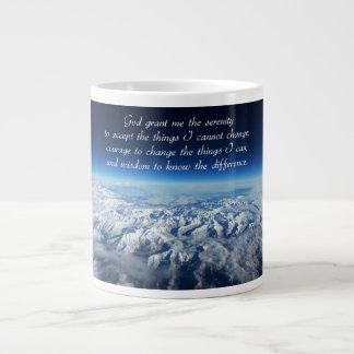 Serenity Prayer & Mountains Mug