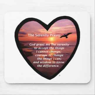 Serenity Prayer Mouse Pad