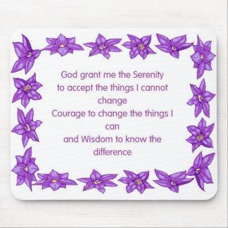 Serenity Prayer Mouse Pad