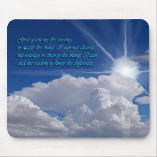 Serenity prayer mousepad1nf mouse pad