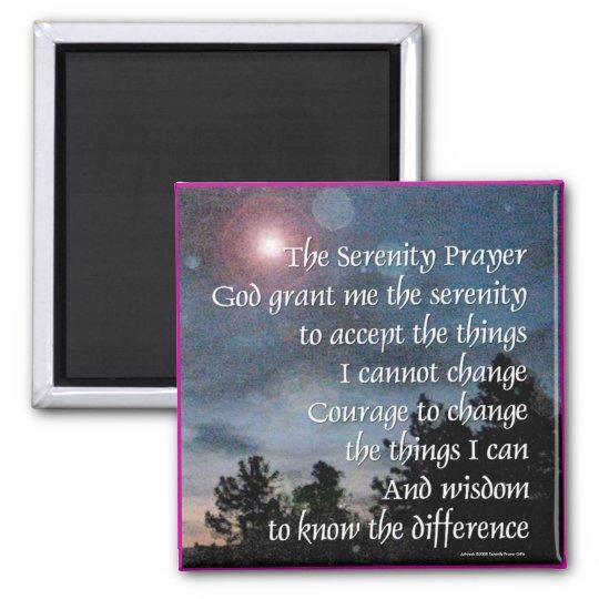 Serenity Prayer Night Light Magnet