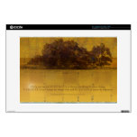 Serenity Prayer Oaks at the Lake Decal For Laptop