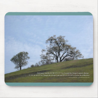 Serenity Prayer Oaks Mouse Pad