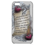 Serenity Prayer on Cell Phone Cover iPhone 5C Cases