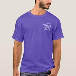Serenity Prayer on Dark T-Shirt