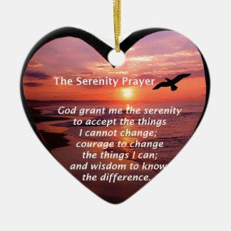 Serenity Prayer Ornaments