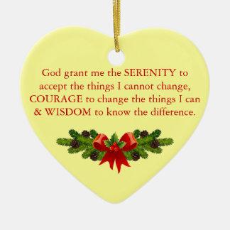 Serenity Prayer Ornament