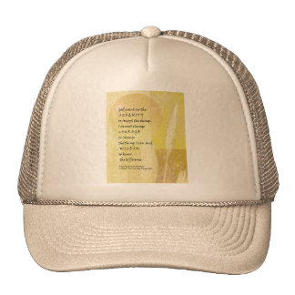 Serenity Prayer Pampas Trucker Hat