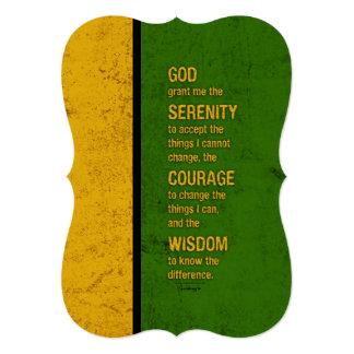 Serenity Prayer: Patriotic Jamaica, Strength/Recov Card
