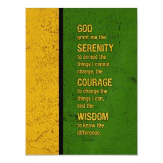 Serenity Prayer: Patriotic Jamaica, Strength/Recov Magnetic Card