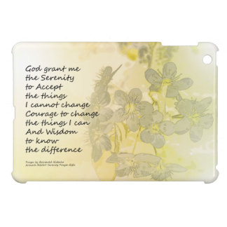 Serenity Prayer Pear Blossoms One Case For The iPad Mini