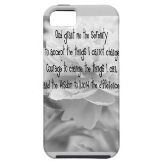 Serenity Prayer Peony iPhone 5 Case
