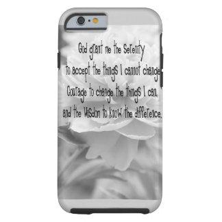 Serenity Prayer Peony iPhone 6 Case