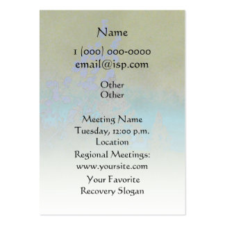 Serenity Prayer Petals and Trees Business Card Templates
