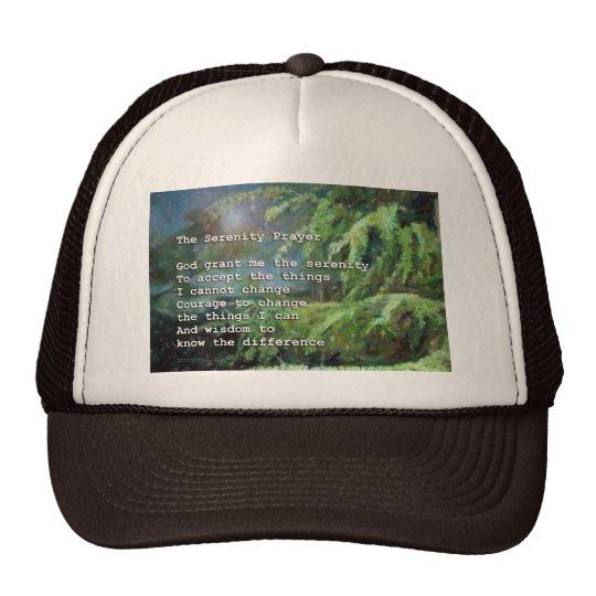Serenity Prayer Pines 2 Trucker Hat