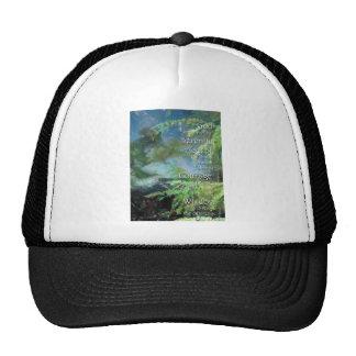 Serenity Prayer Pines Trucker Hat