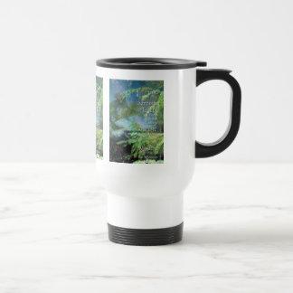 Serenity Prayer Pines Travel Mug