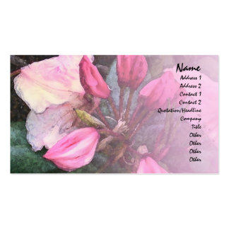 Serenity Prayer Pink Rhododendron Profile Card