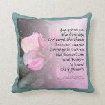 Serenity Prayer Pink Rhododendrons American MoJo P Pillow