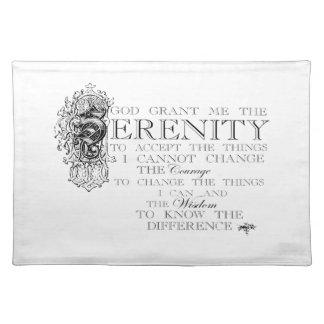 Serenity Prayer Placemat