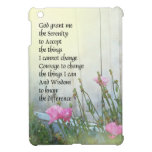 Serenity Prayer Poppies by the Shed iPad Mini Covers