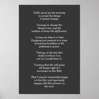 Serenity Prayer - print