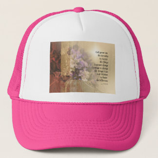 Serenity Prayer Quince and Fence 2 Trucker Hat
