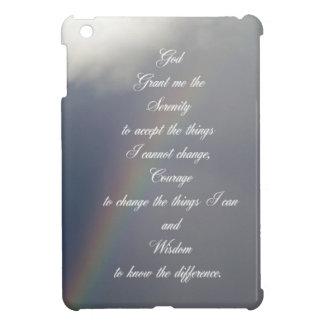 Serenity Prayer Rainbow iPad Mini Cover