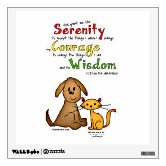 Serenity Prayer: Rehab & Detox, Strength/Recovery Wall Decal