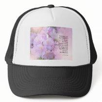 Serenity Prayer Rhododendron Glow Trucker Hat